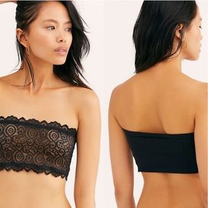 Free People NWT Seamless Lace Reversible Bandeau